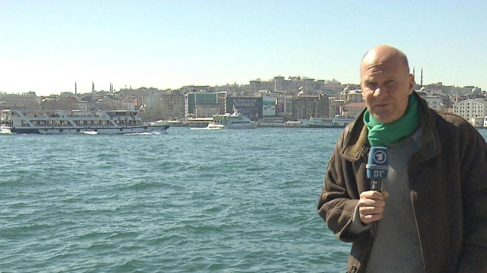 ARD-Studioleiter Michael Schramm in Istanbul | Bild: BR