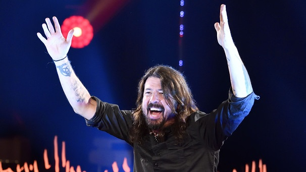 Foo-Fighters-Sänger Dave Grohl | Bild: picture-alliance/dpa