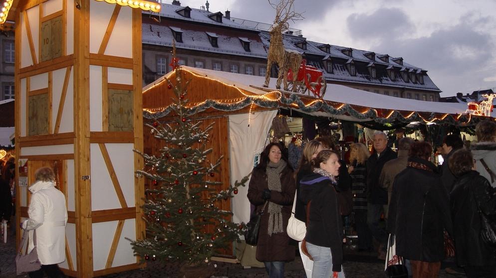 Weihnachtsmarkt Bamberg.Weihnachtsmärkte In Franken Weihnachtsmarkt In Bamberg Heimat