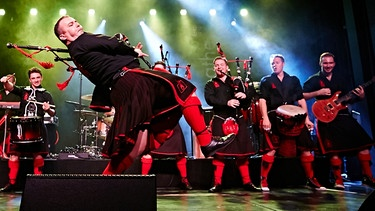 Bands auf dem Nürnberger Bardentreffen 2017: Red Hot Chilli Pipers | Bild: Red Hot Chilli Pipers