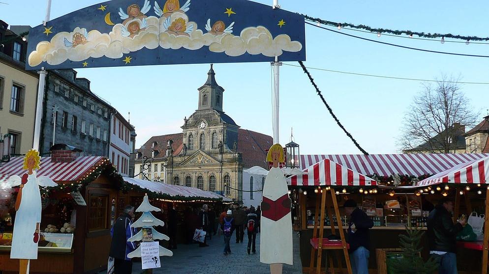 weihnachtsm rkte in franken christkindlesmarkt in bayreuth frankenschau br fernsehen. Black Bedroom Furniture Sets. Home Design Ideas