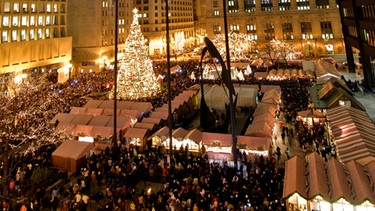Der Christkindlmarket Chicago | Bild: Christkindlmarket Chicago