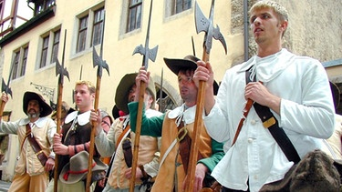 Soldaten-Darsteller in Rothenburg | Bild: Stadt-Rothenburg