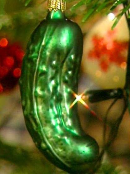 Amerikanischer weihnachtsbaum gurke
