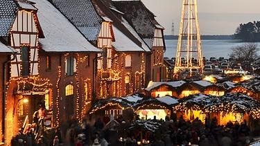 Weihnachtsmarkt Hexenagger.Weihnachtsmärkte In Franken Frankens Leuchtender Budenzauber