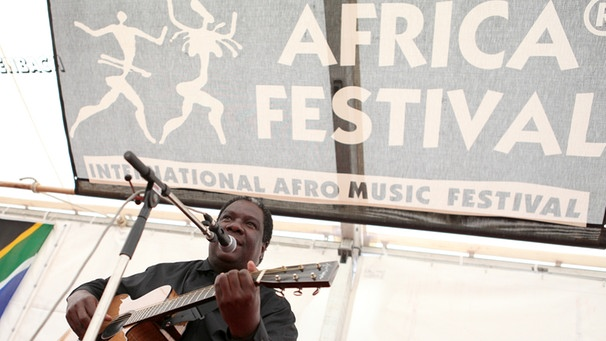 Internationales Africa-Festival in Würzburg | Bild: picture-alliance/dpa