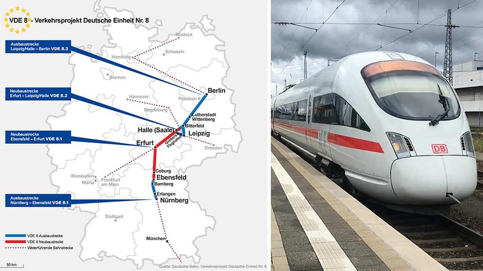 Ice Strecke Nürnberg Berlin Endspurt Bei Deutschlands