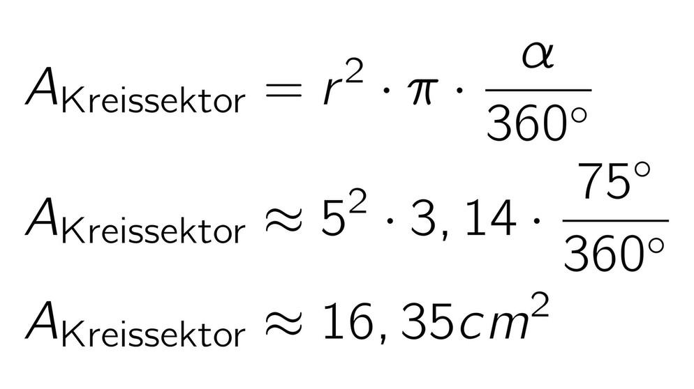 Berechnungen Zur Kreisfläche | Bild: BR