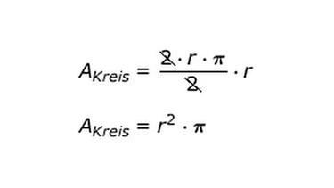 Berechnungen Zur Kreisfläche | Bild: BR. Formel Kreisfläche