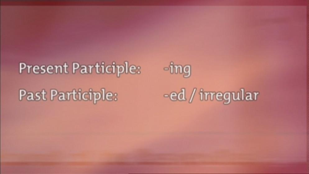 Grammatik (29): Partizipien und Partizipialsätze | Grundkurs ...