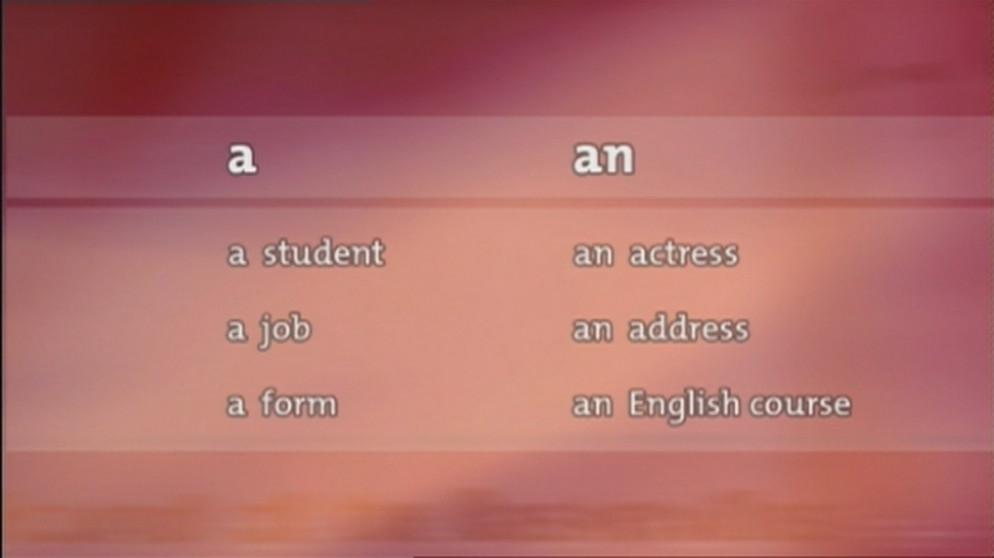 Grammatik 4 Bestimmte Und Unbestimmte Artikel Grundkurs