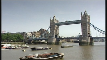 Die Tower-Bridge in London | Bild: Bayerischer Rundfunk