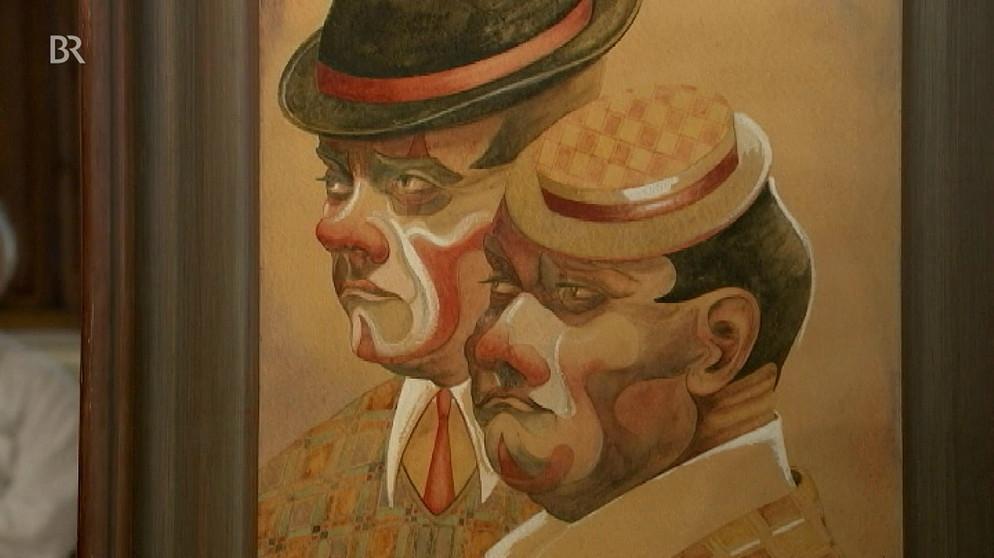 Clowns: Gar nicht lustig | Kunst auf Papier | Schatzkammer | Kunst + ...