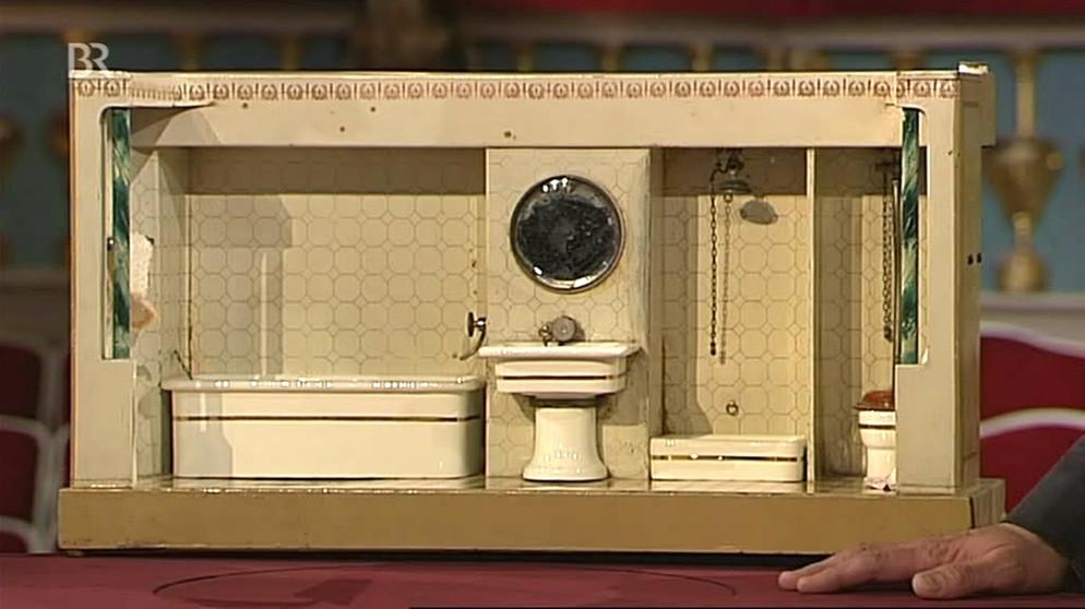 Märklin-Badezimmer: Erziehung Zur Sauberkeit