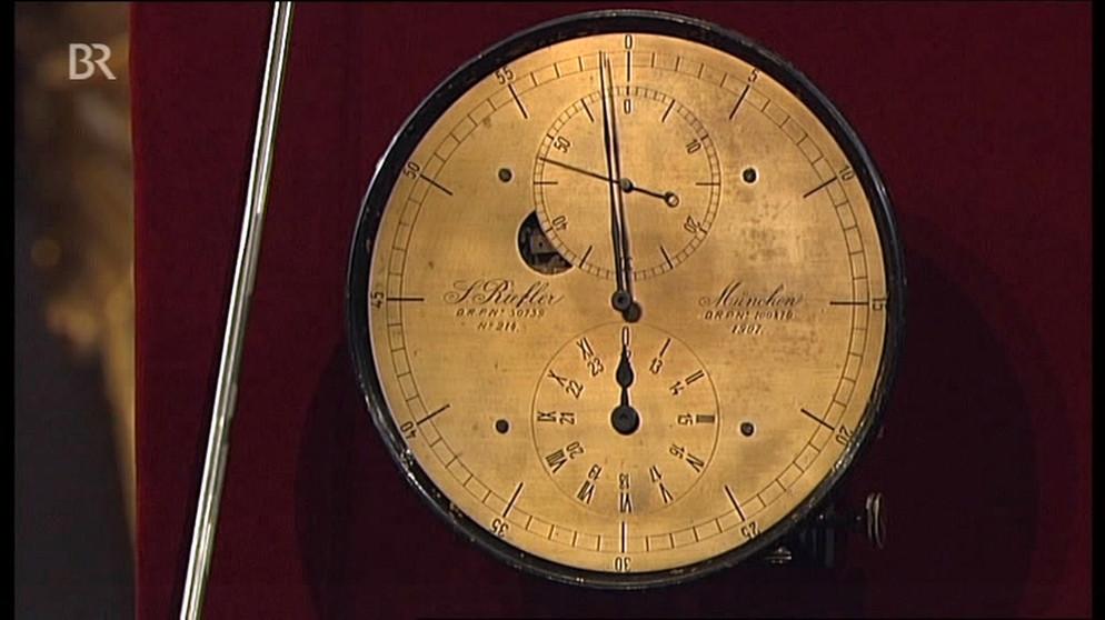 Riefler Pendeluhr Unter Strom Uhren Schatzkammer