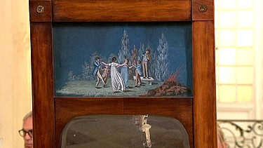 Zum Video Mit Informationen Spiegel Märchenhaftes Biedermeier