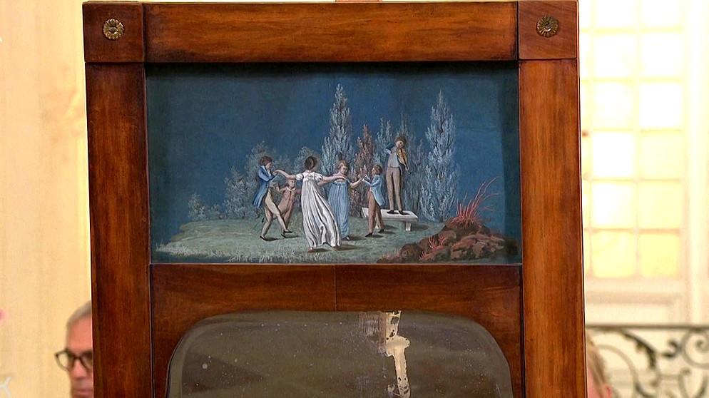 Biedermeier Spiegel spiegel: märchenhaftes biedermeier | möbel | schatzkammer | kunst +