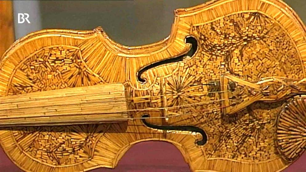 streichholzorchester abgebrannt und zugeklebt musikinstrumente schatzkammer kunst. Black Bedroom Furniture Sets. Home Design Ideas