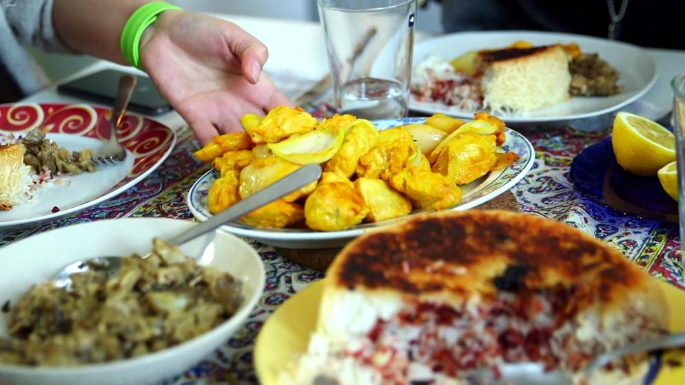 Orientalisches Menü: Leichte Kost Für Vegetarier Und Grillfans