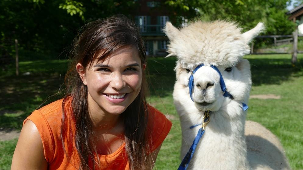 Anna Und Die Haustiere Alpaka Anna Und Die Haustiere Schauen Br Kinder Eure Startseite