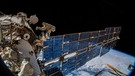Internationale Raumstation ISS  | Bild: dpa-Bildfunk