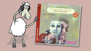 "CD-Cover ""Mozart - Don Giovanni"" von Katharina Neuschaefer 