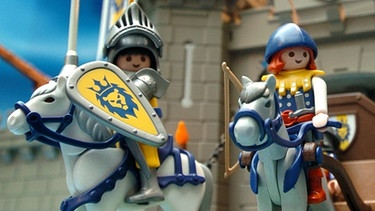 Ritter in der Burg, Playmobil | Bild: picture-alliance/dpa