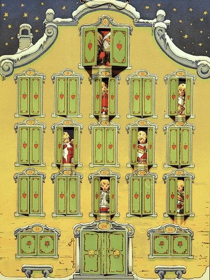 Atemberaubend Warten auf Weihnachten: Adventskalender - Wer hat ihn erfunden #VF_73