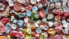 Gum Wall Seattle Nahaufnahme  | Bild: picture-alliance/dpa