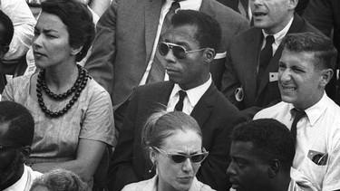 "Schriftsteller James Baldwin in der Doku ""I Am Not Your Negro."" von Raoul Peck 