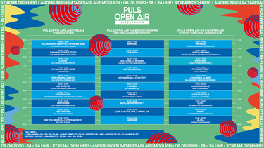 PULS Open Air Timetable | Bild: BR