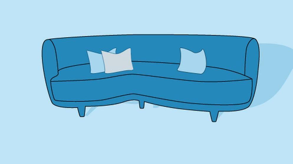 Blaue Couch | BR.de