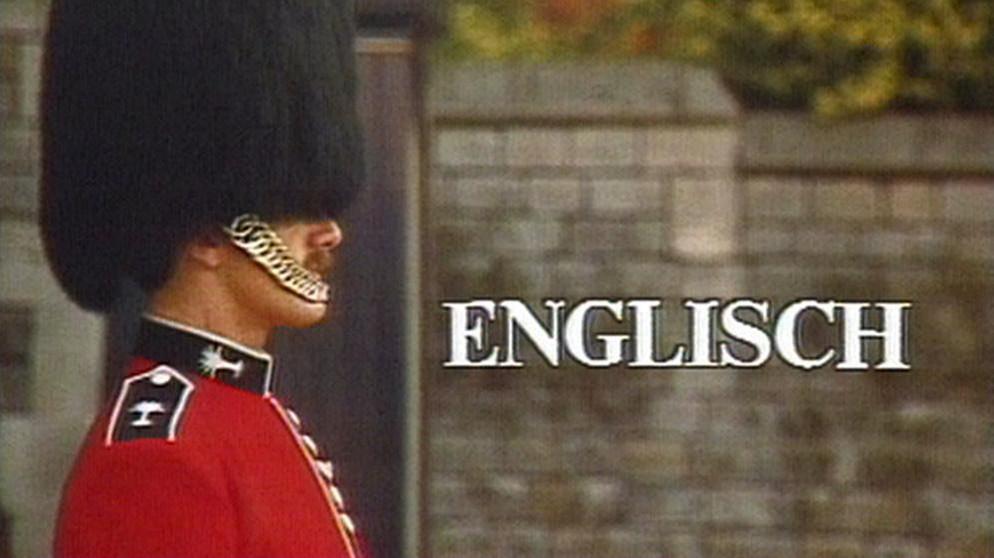 Verpasst Englisch