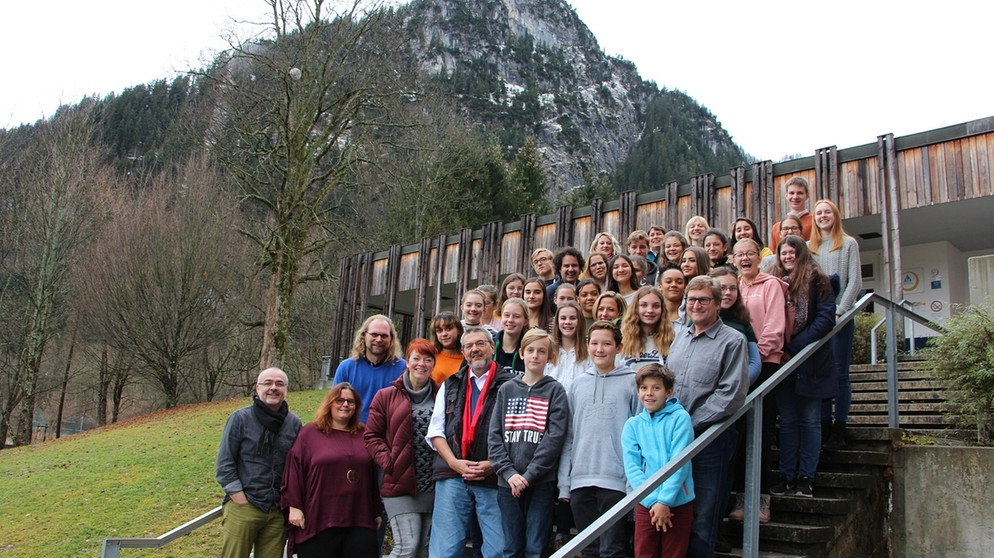 Einblicke in den Workshop in Oberammergau. | Bild: BR