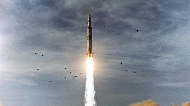 Start der Saturn-V Rakete | Bild: NASA