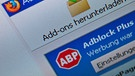 "Das Browser-Addon ""Adblock Plus"" 