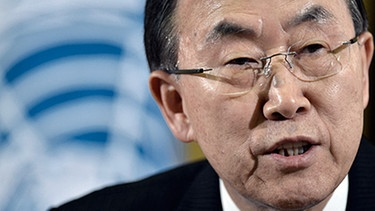 Ban Ki Moon | Bild: picture-alliance/dpa