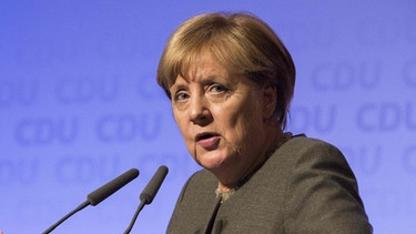 Angela Merkel | Bild: picture-alliance/dpa/Omer Messinger