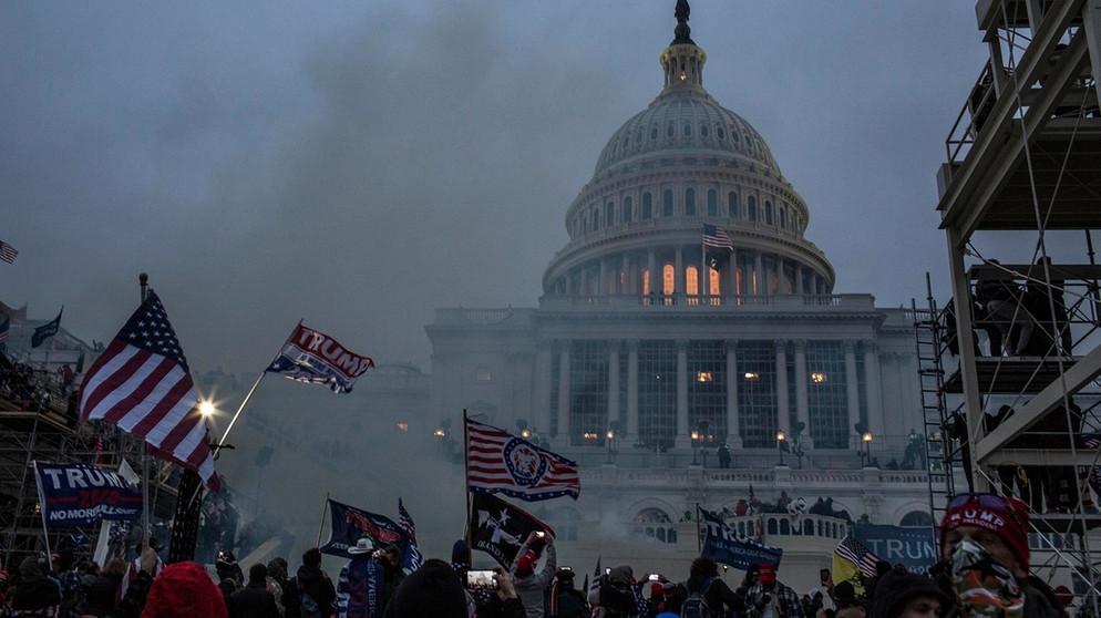 Der Kampf um die Demokratie in Amerika...