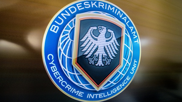 Logo der BKA Cybercrime Intelligence Unit | Bild: picture-alliance/dpa | Boris Roessler