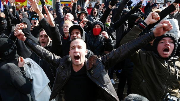Demonstranten | Bild: Reuters (RNSP)