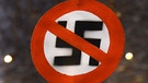 Nazi-Verbotsschild | Bild: picture-alliance/dpa