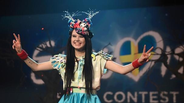 Eurovision Song Contest 2016 Mangamädchen Jamie Lee Kriewitz Fährt
