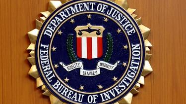Das Wappen des Federal Bureau of Investigation (FBI) des US-Justizministeriums | Bild: picture-alliance/dpa