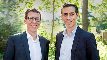 Bastian Obermayer, SZ (li) und Laurent Richard (r) | Bild: privat