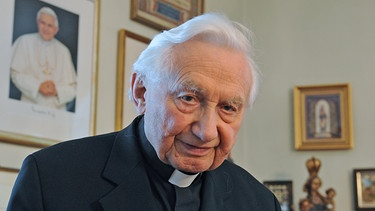 Georg Ratzinger | Bild: picture-alliance/dpa/Armin Weigel