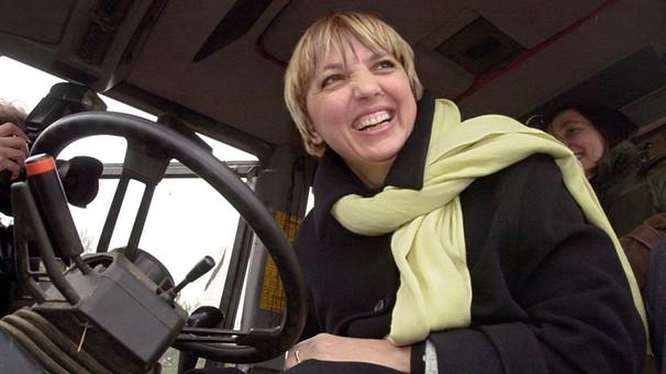 claudia roth nimmt am 2532001 in gorleben in einem traktor an der so genannten - Gring Eckardt Lebenslauf