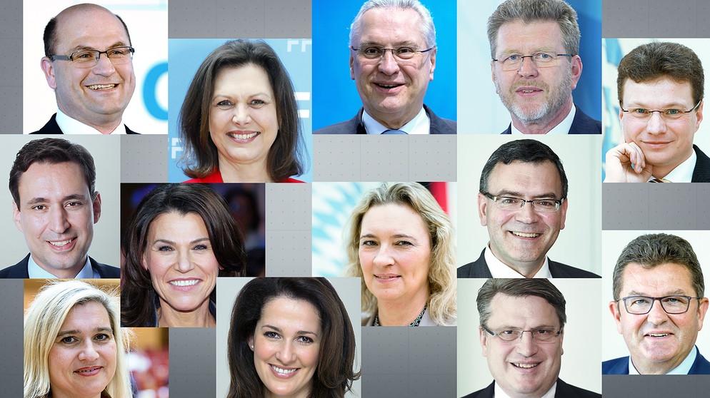 die ministerinnen in sders neuem kabinett bild picture alliancedpa - Was Ist Ein Kabinett