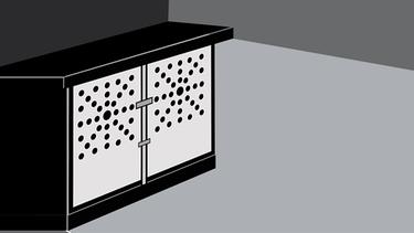 Kastenbett - grafische Darstellung | Bild: Illustration/BR/Felix Hörhager
