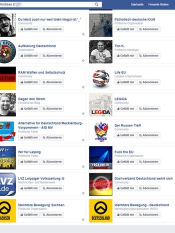 Andreas e.: wir wählen die partei | bild: screenshot